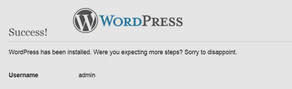 wordpress-installation-successwordpress-installation-success