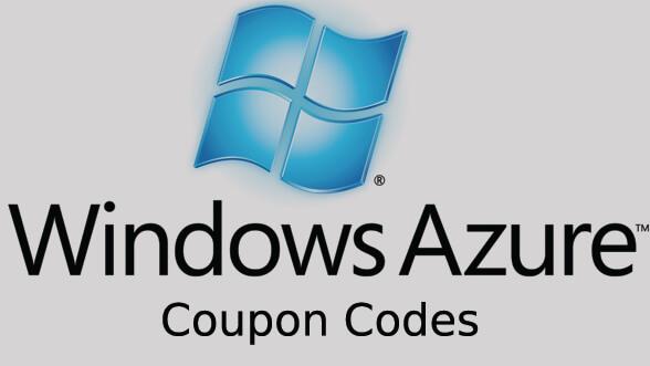 windows azure coupons